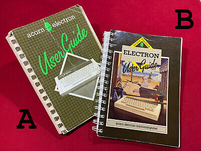 £15 • Buy Acorn Electron User Guide Manual Issue 1 Or 2 Selection