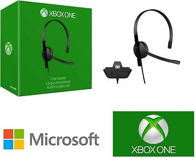 AU25.93 • Buy 100% Official Genuine Microsoft Xbox One Chat Headset