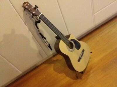 AU10 • Buy Acoustic Guitar And Stand And Tuner And Strap