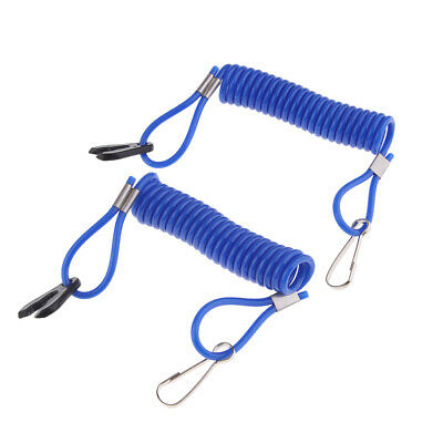 AU10.70 • Buy Blue Outboard Engine Stop Kill Switch Safety Lanyard Fit For Yamaha