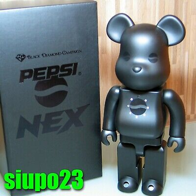 $499.99 • Buy Medicom 400% Bearbrick ~ Pepsi Nex Be@rbrick Black Diamond Campaign