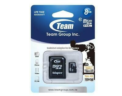 AU9 • Buy Memory Card MicroSDHC 8GB, Class 10, With SD Adapter