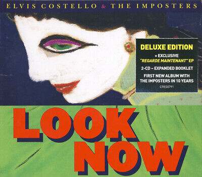 £5.89 • Buy Elvis Costello & The Imposters - Look Now (Deluxe Edition) [New & Sealed] 2CD
