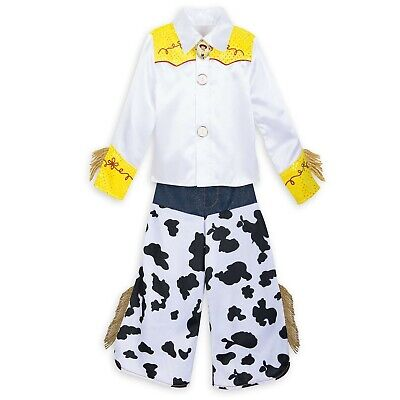 £31.70 • Buy Disney Authentic Toy Story Jessie Cowgirl Costume Girls Size 3 4 5/6 9/10
