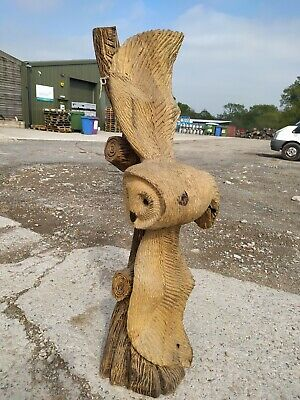 £280 • Buy  Great Christmas Gift Sussex Chainsaw Carving Owl Wood Carving Garden  Sculpture