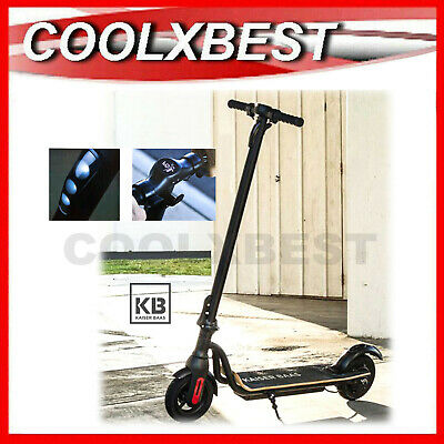 AU469.98 • Buy Kaiser Baas Revo E1 Electric Scooter Adult Light Weight Folding Led Display Dash