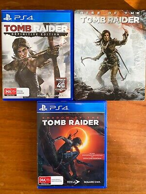 AU25 • Buy Tomb Raider Trilogy PS4 Playstation Games