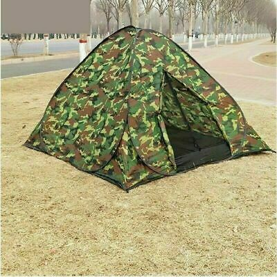 AU48.74 • Buy 3-4 Man Person Auto Pop Up Tent Outdoor Festival Camping Travel Beach Family UK