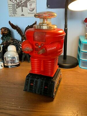 $ CDN706.79 • Buy REMCO Vintage Lost In Space B9 Robot 1966 RED Variant (Not Working)