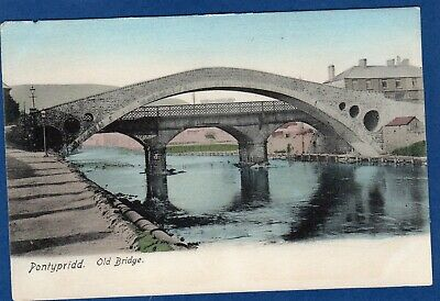 Old Bridge Pontypridd Pc Unused Frith Y763 • 6£