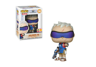 AU14.99 • Buy Overwatch - Soldier: 76 Grillmaster SDCC 2018 Exclusive Pop! Vinyl