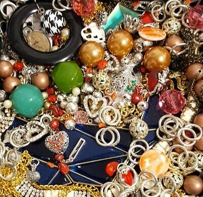 $ CDN31.21 • Buy Vintage Now Unsearched Untested Junk Drawer Jewelry Charm Bead Lot 531