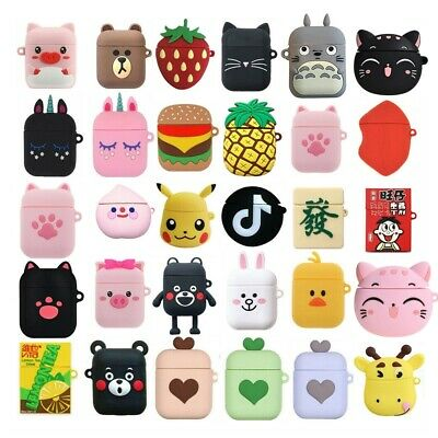$ CDN1.31 • Buy Case For Apple Airpods Pro 2 Charging Covers Cute 3D Cartoon Silicone Protective