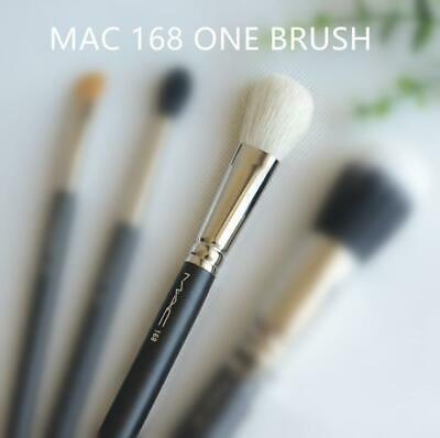 $16.56 • Buy MAC 168 Large Angled Contour Brush Discontinued NEW White Head Cheek Contour