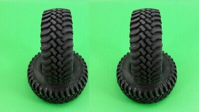£20.58 • Buy Soft Rubber 1.9 Tyres (4 Pcs) For 1:10 RC Crawler May Suit Axial SCX CRTY001