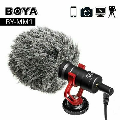 Boya BY-MM1 BY Shotgun Video Microphone Recording Mic Directional Condenser New • 23.01£