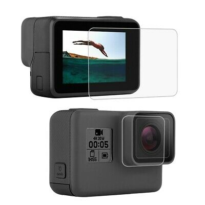 $ CDN6.03 • Buy Tempered Glass LCD Screen Protector Lens Film For GoPro Hero 7 6 5 Black Camera