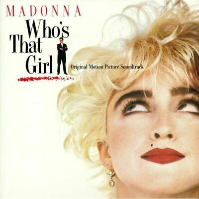Madonna – Who's That Girl [New & Sealed] 12  Ltd Edition Crystal Clear Vinyl  • 15.29£