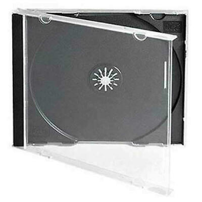 AU41.95 • Buy CD Slim 5.2mm Standard 10.4mm Single Double Triple Quad Sextuple Jewel Cases 4 6