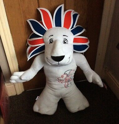 Pride The Lion London Olympics  2012 Team GB Mascot Soft Plush Large 94 Cm • 75£