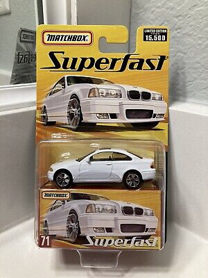 $18.04 • Buy Matchbox Superfast #71 RARE WHITE BMW 328i Coupe FREE SHIPPING