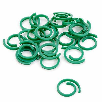 £2.10 • Buy SPIRAL PLANT CONTROL CLIPS Garden Support Ties Shrub Flower Patio Fixing 72555 N