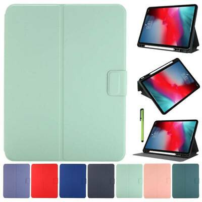 AU16.42 • Buy Shockproof TPU Case Flip Smart Cover With Pencil Holder For IPad Pro Air Mini 5