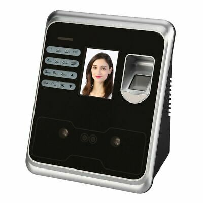 2.4  Biometric Clocking In System Attendance Face Fingerprint Time Recorder • 45.99£