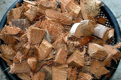 £7.96 • Buy Clean Coconut Husk Fiber, Chips, Bites  Orchids Flowers,anthurium  Free Shipping