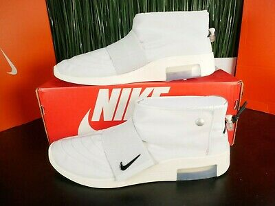 $124.99 • Buy Nike Air Fear Of God Moccasin Pure Platinum Grey Mens Shoes AT8086 001 Size 12