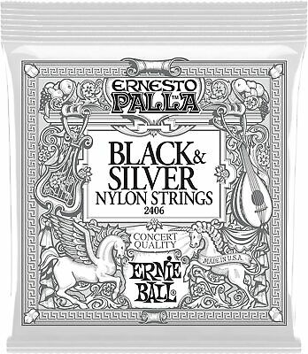 $ CDN8.49 • Buy Ernie Ball Ernesto Palla 2406 Nylon Black & Silver Classical Guitar Strings