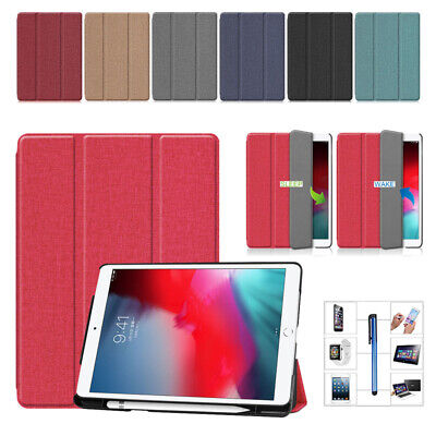 AU16.68 • Buy For IPad Air 3 / Pro 10.5 Flip Smart Cover Leather Stand Case With Pencil Holder