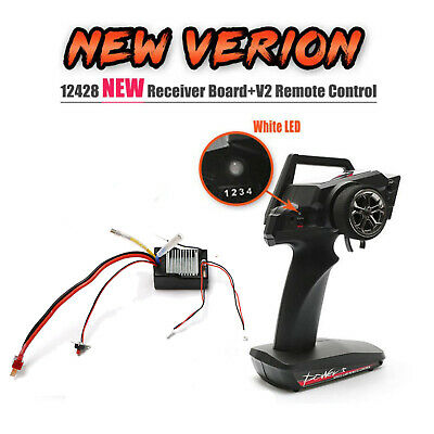 $ CDN38.44 • Buy For Wltoys 12428/12423 RC Spare Parts Circuit Board / Remote Control New Version