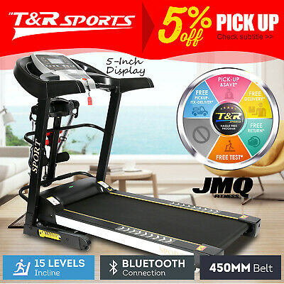 AU799.99 • Buy JMQ Fitness T900 Electric Treadmill Auto Incline Home Gym Run Exercise Machine