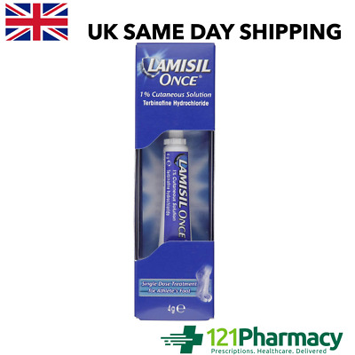 £7.65 • Buy Lamisil Once Single Dose Treatment - 4g Athletes Foot Itching Burning RELIEF