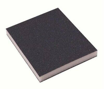 3 X FOAM SANDING PADS Wet & Dry Sandpaper Sponge 12mm Thin Blocks  • 4.05£