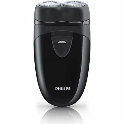 Philips Travel Shaver With Twin Rotary Heads And Travel Pouch - Black (PQ203/17) • 28.01£