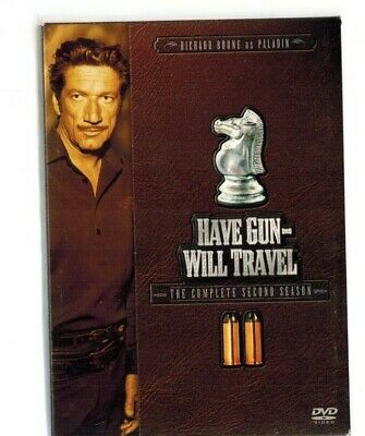 $10.95 • Buy Have Gun Will Travel - The Complete Second Season (DVD, 2005, 6-Disc Set)