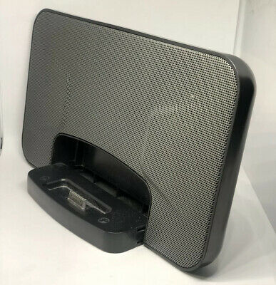 Ipod / Iphone Sound Dock Black Docking Station ( For Parts Not Working ) • 10.99£