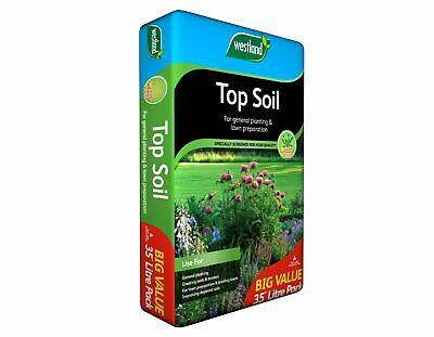 £13.94 • Buy Westland 35L Top Soil Multi Purpose For Grass Seed Lawns Planting Vegetables