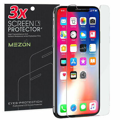 AU9.99 • Buy [3 Pack] Apple IPhone X (5.8 ) Anti-Glare Matte Protector Film By MEZON