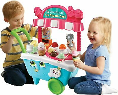 LeapFrog Scoop & Learn Ice Cream Cart Electronic Speaking Ideal Gift For Kids • 64.95£