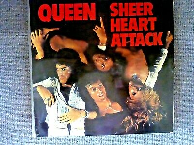 Queen - Sheer Heart Attack (Vinyl LP) UK EMI '4U' 1st Pressing & Trident Credit • 30£