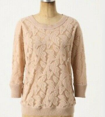 $ CDN50 • Buy ANTHROPOLOGIE Eloise Lace Top - Small