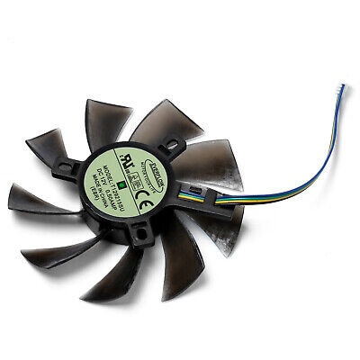 AU6.99 • Buy Graphics Card Cooling Fan T129215SH 4Pin For GeForce GTX 1060 Mini 3GB ITX