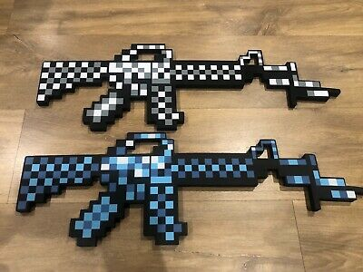 AU25 • Buy Minecraft Toys EVA Weapon Gun Game Action Figure Children's Toy