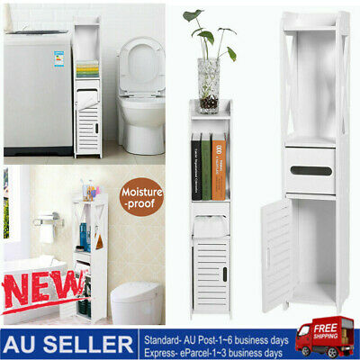 AU27.98 • Buy Bathroom Corner Cabinet Wall Caddy Storage Bathroom Organiser Shelf Cupboard AU
