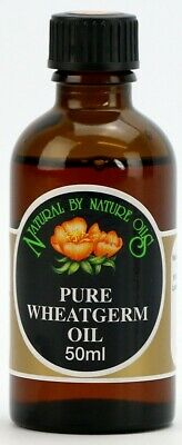 £7.10 • Buy Wheatgerm Oil - Cold Pressed Carrier Oil - Base Oil 50ml - Natural By Nature Oil
