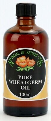 £8.45 • Buy Wheatgerm Oil - Cold Pressed Carrier Oil - Base Oil 100ml - Natural By Nature