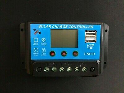 £10 • Buy Anself Solar Charge Controller - 10amp - Lithium ION Battery Version
